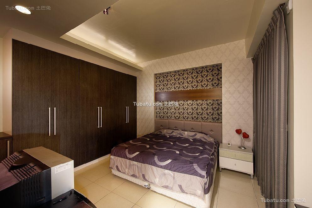 现代时尚装潢设计卧室效果图