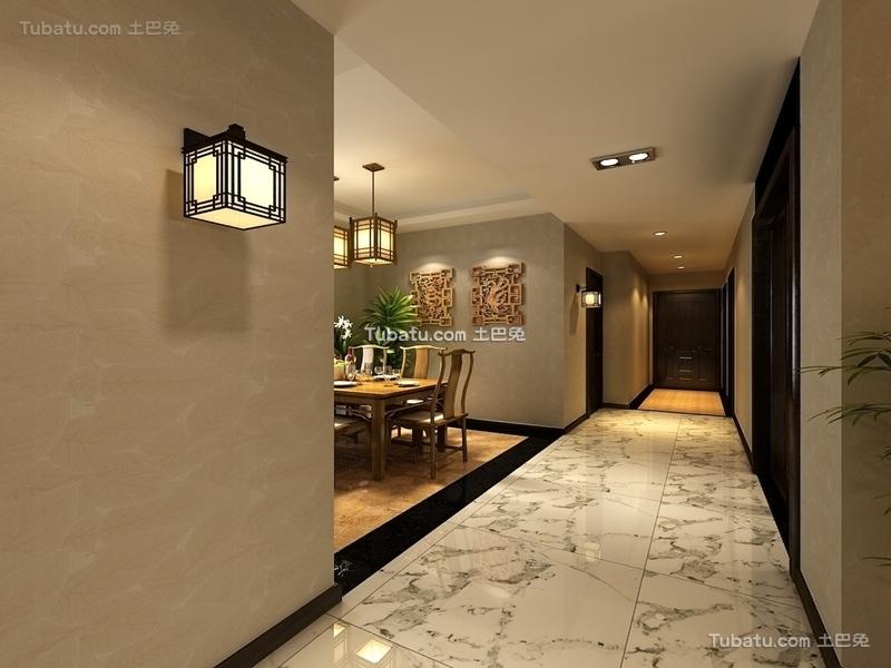 中式家居过道设计