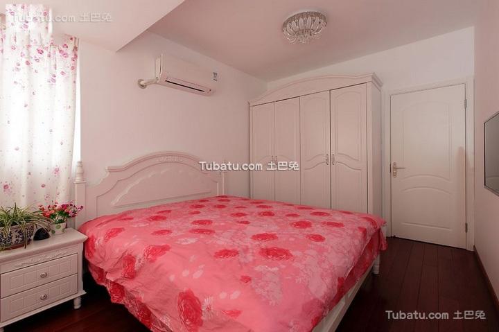 田园风格小户型卧室室内装修图片