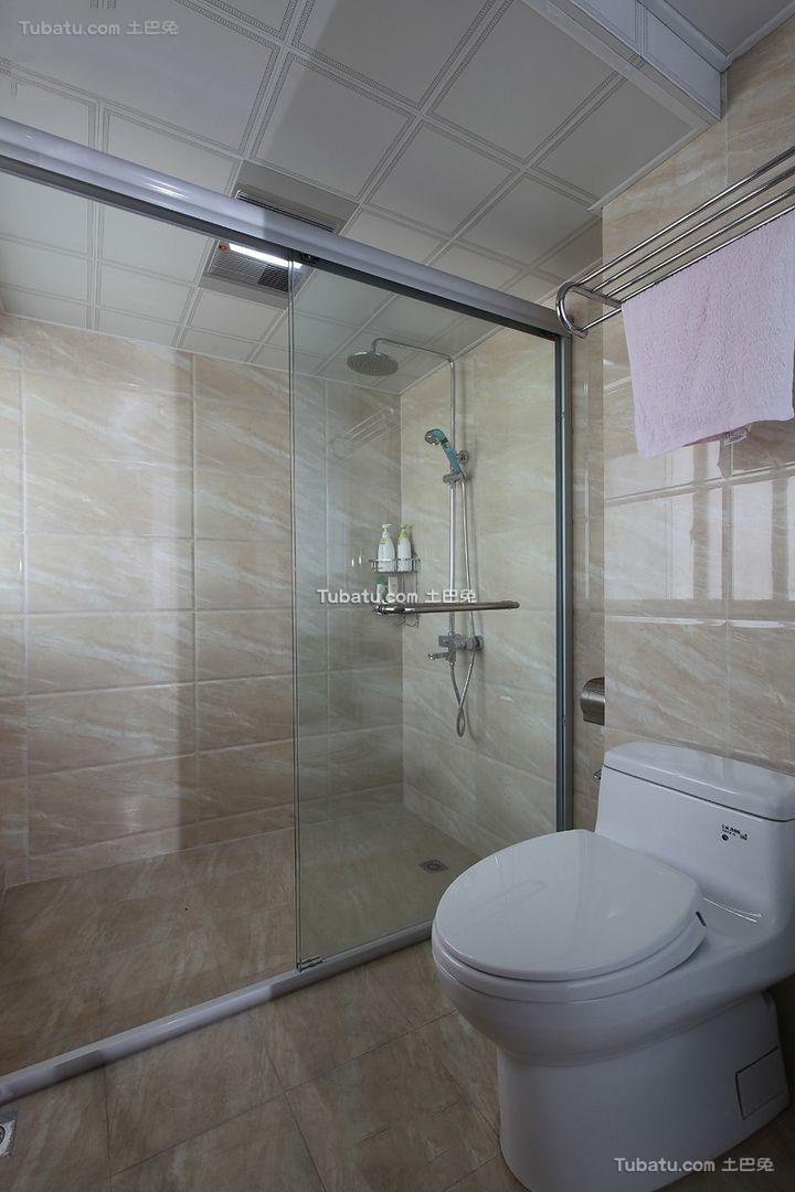 现代小户型设计卫生间装修图片