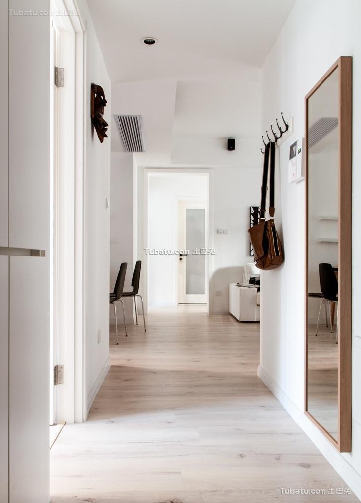 极简北欧家装玄关设计
