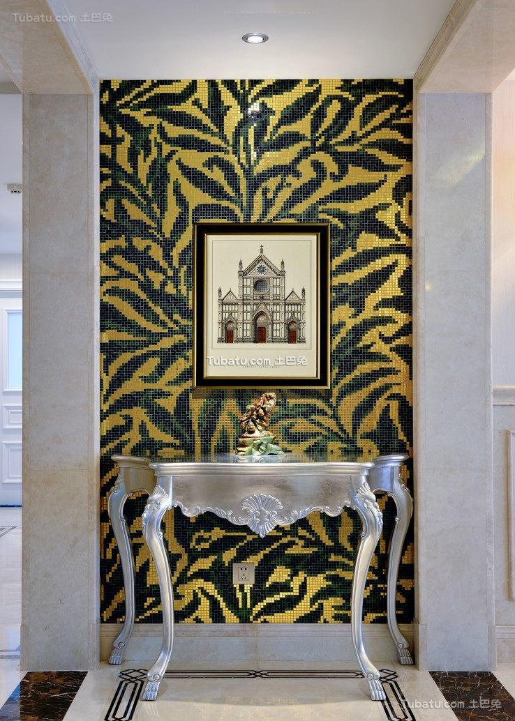 欧式新古典玄关装饰装潢