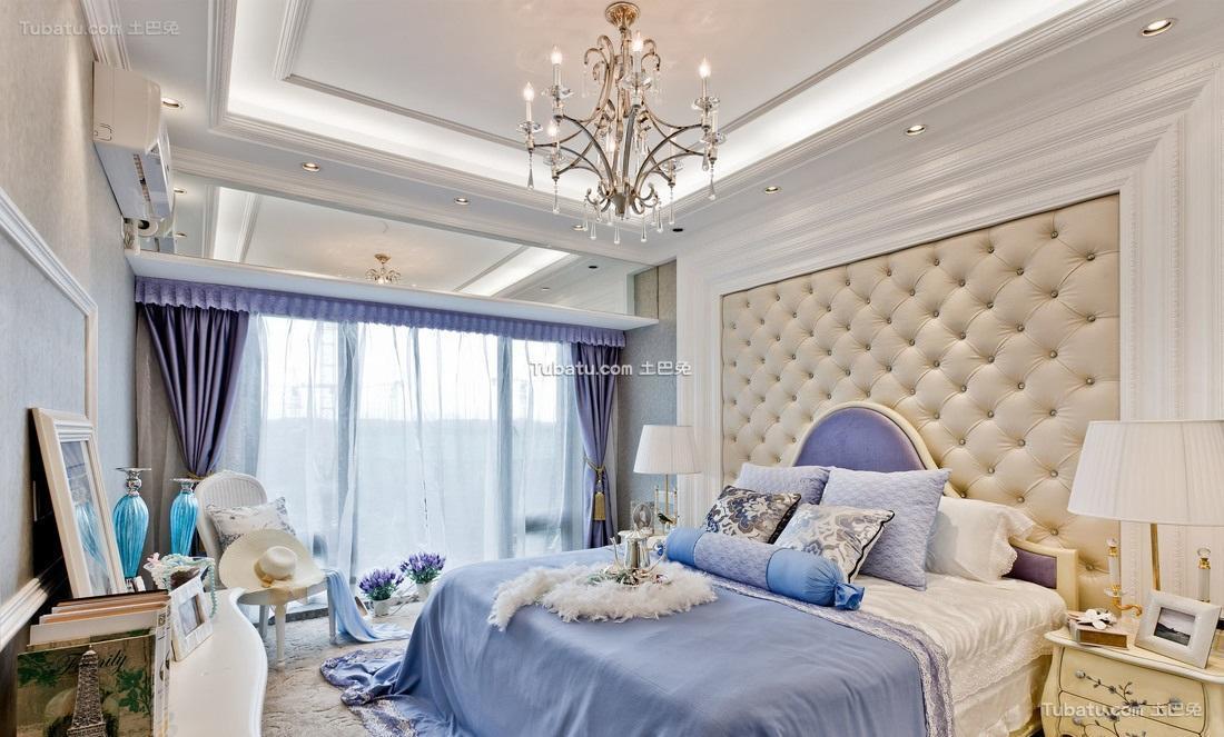 简欧唯美家居卧室设计