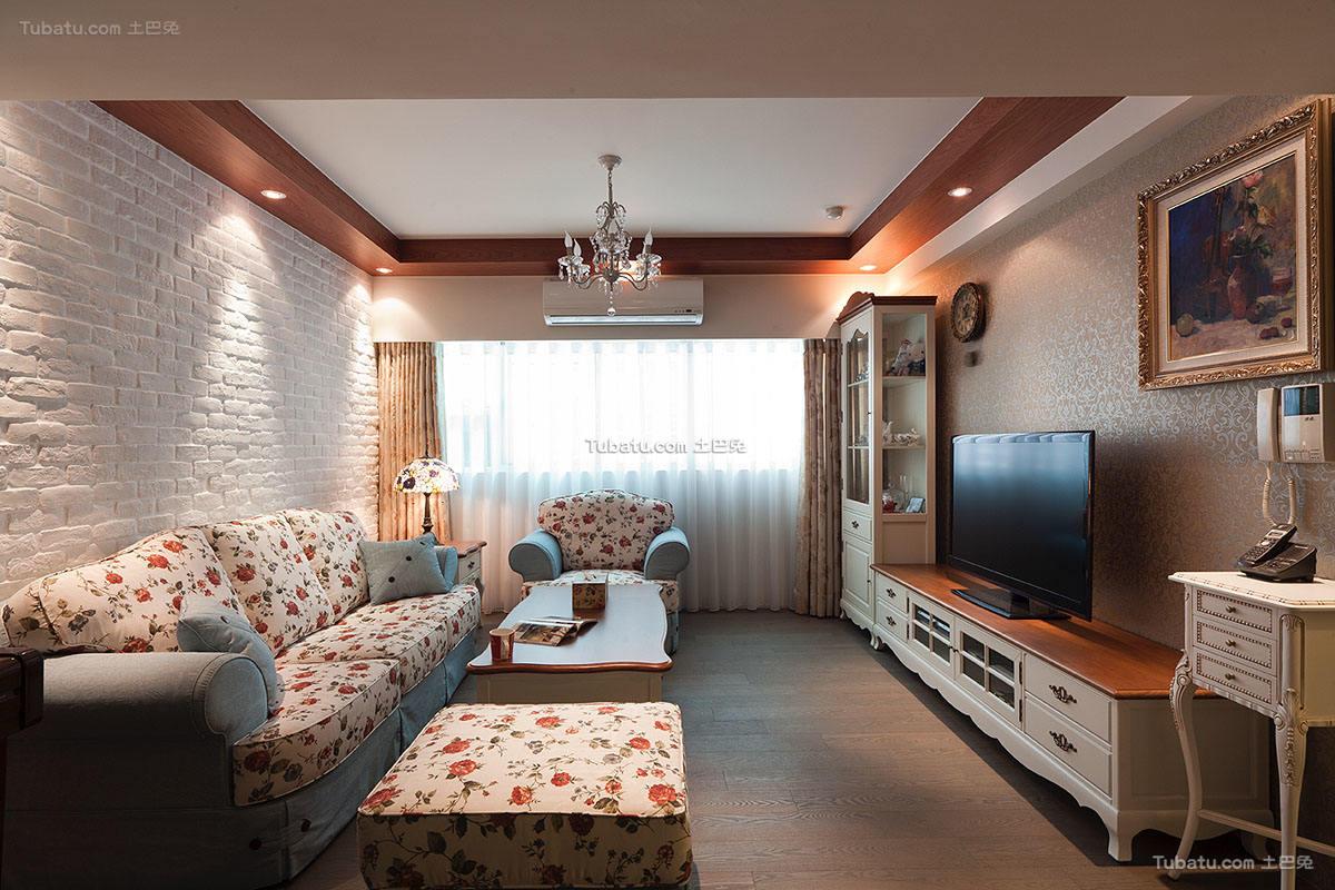 韩式田园风格二居室设计