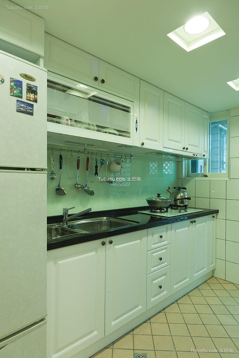 韩式田园风格厨房设计