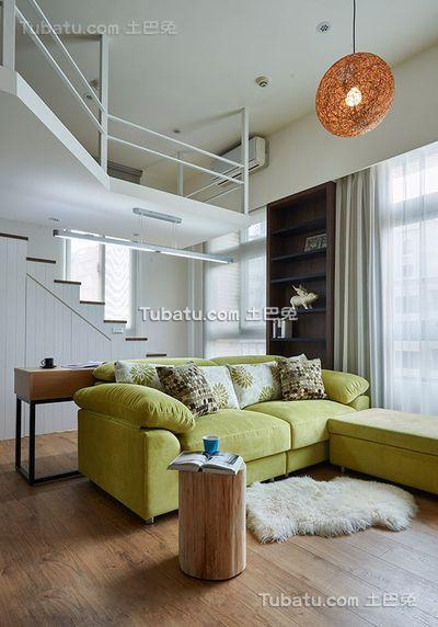 现代风格小别墅室内装饰设计效果图片