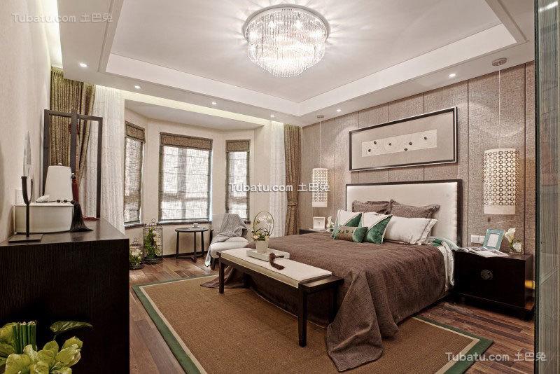 现代精美卧室家装案例