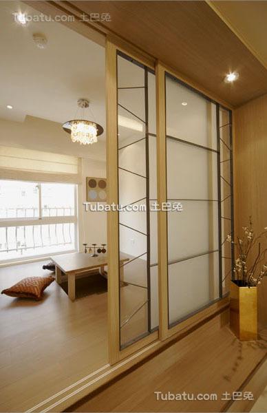 现代清新装修简约风格三居室设计