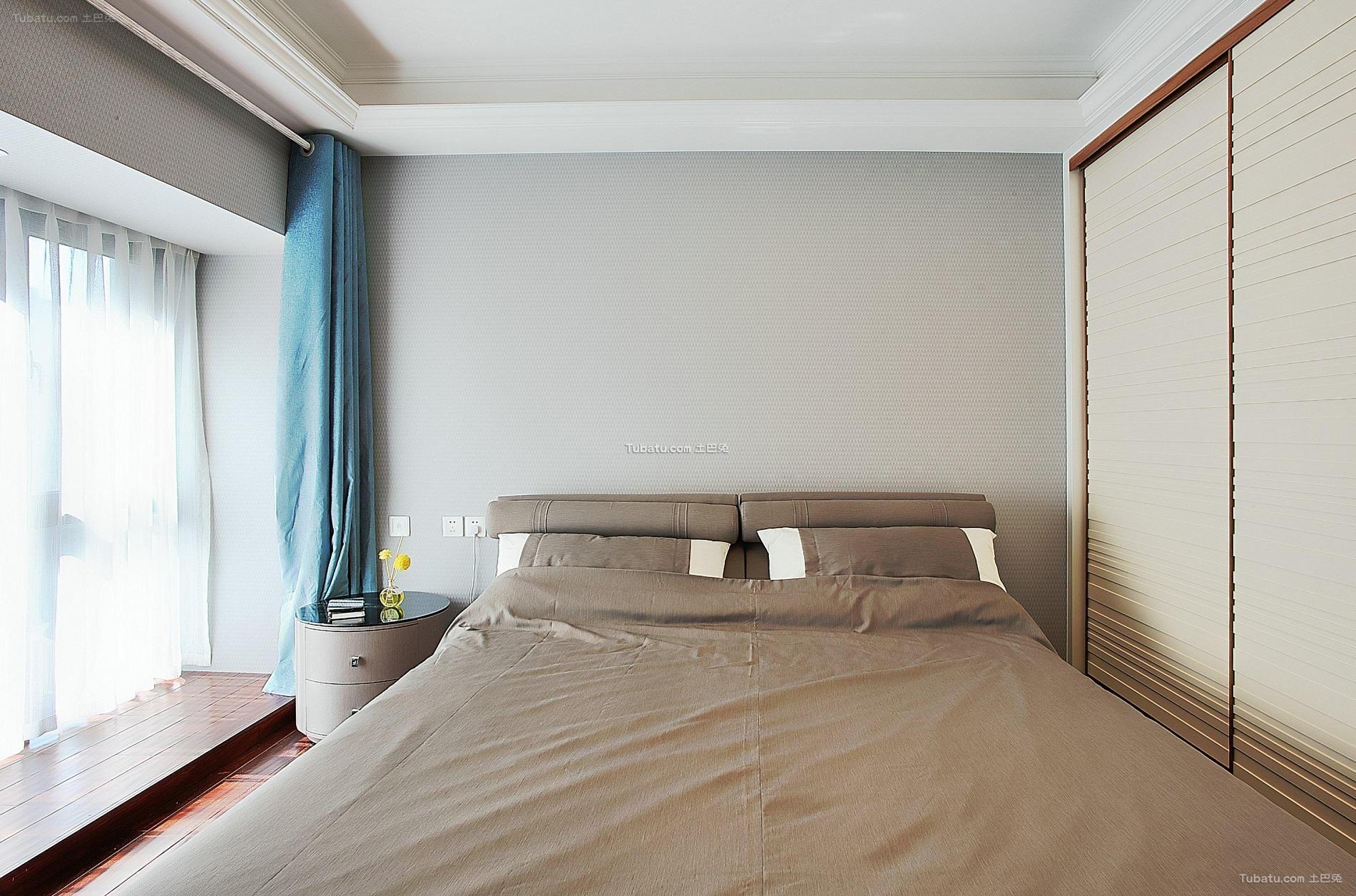 现代简约卧室家装设计效果图片