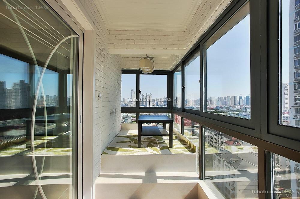 现代家居装修阳台设计效果图