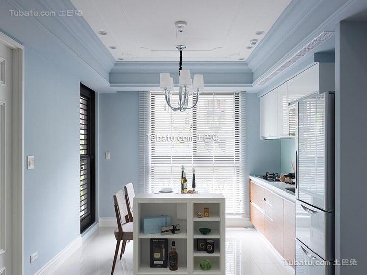 简约小户型家居厨房装饰设计效果图
