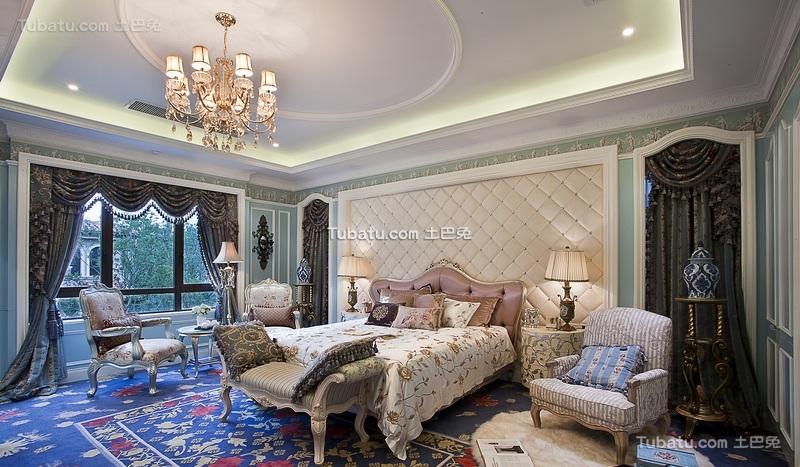 欧式洛可可风格家居卧室设计