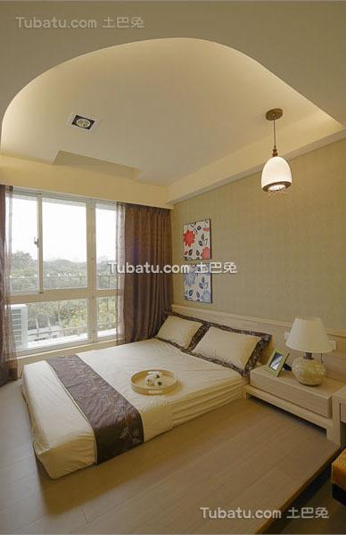 现代清新装修简约风格卧室