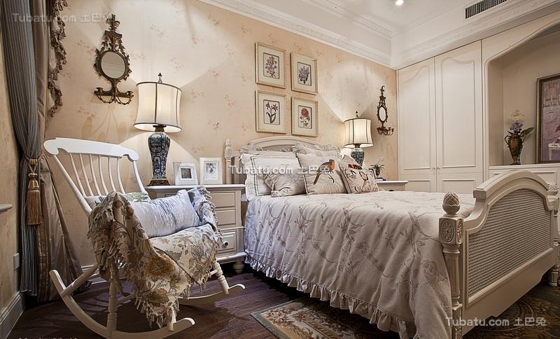 洛可可浪漫欧式儿童房装修