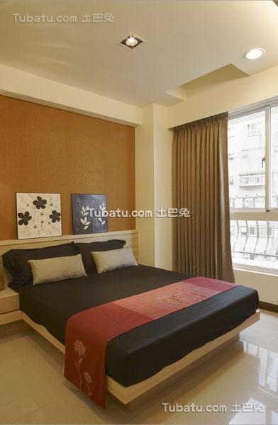 现代清新装修简约风格卧室设计