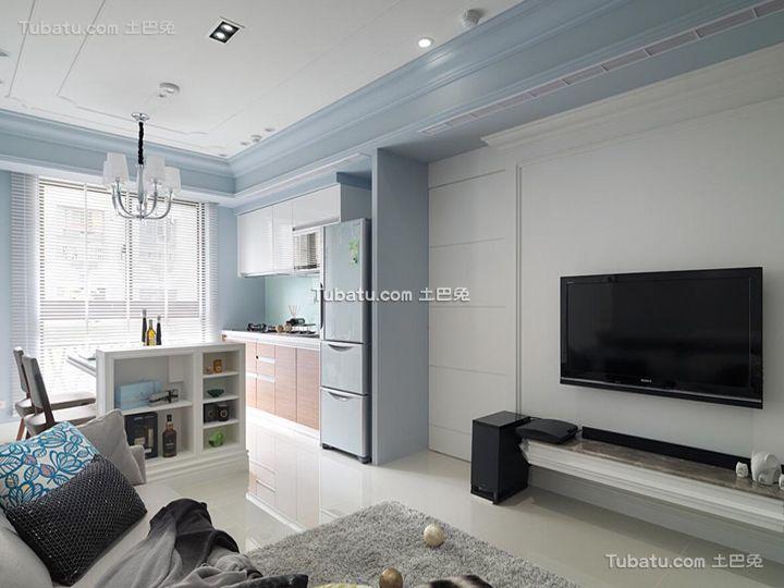 简约小户型家居装饰设计效果图