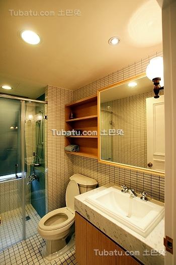 复古宜家风格卫生间设计