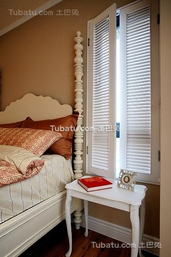 复古宜家风格卧室设计