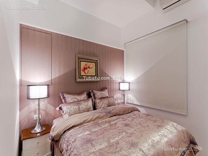 现代简约设计小户型卧室装修图片