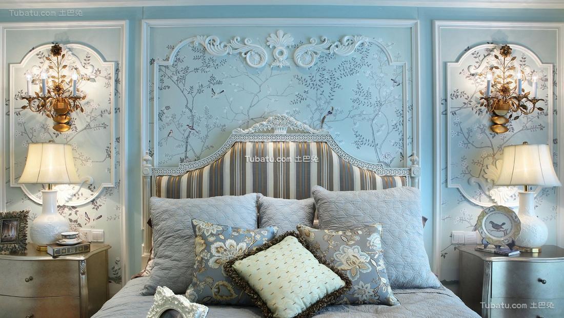 精致唯美巴洛克欧式卧室欣赏