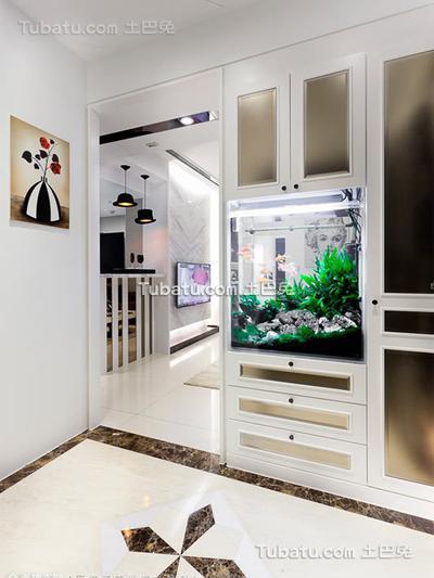 现代简约设计玄关装修图片