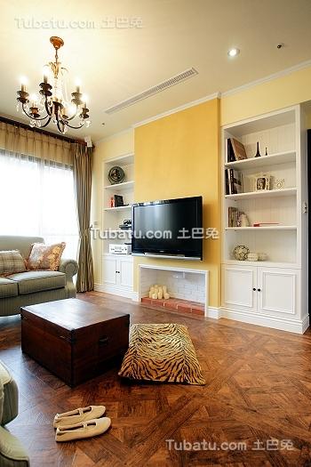 复古宜家风格客厅设计