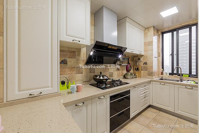简美家庭厨房效果图