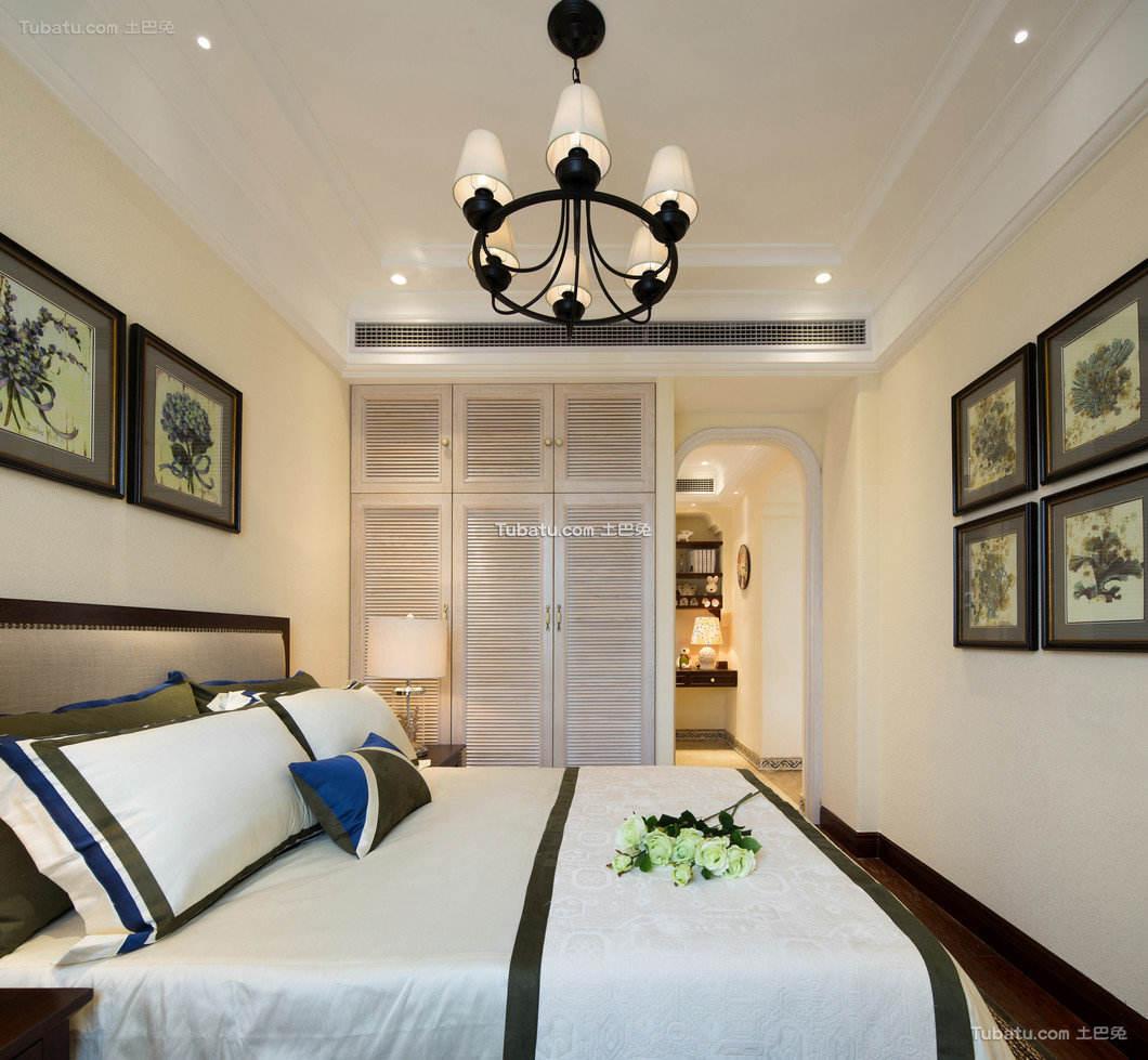 美式休闲家居卧室设计