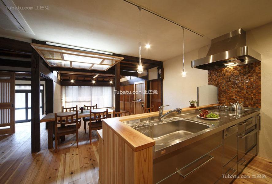 日式装修风格设计餐厅