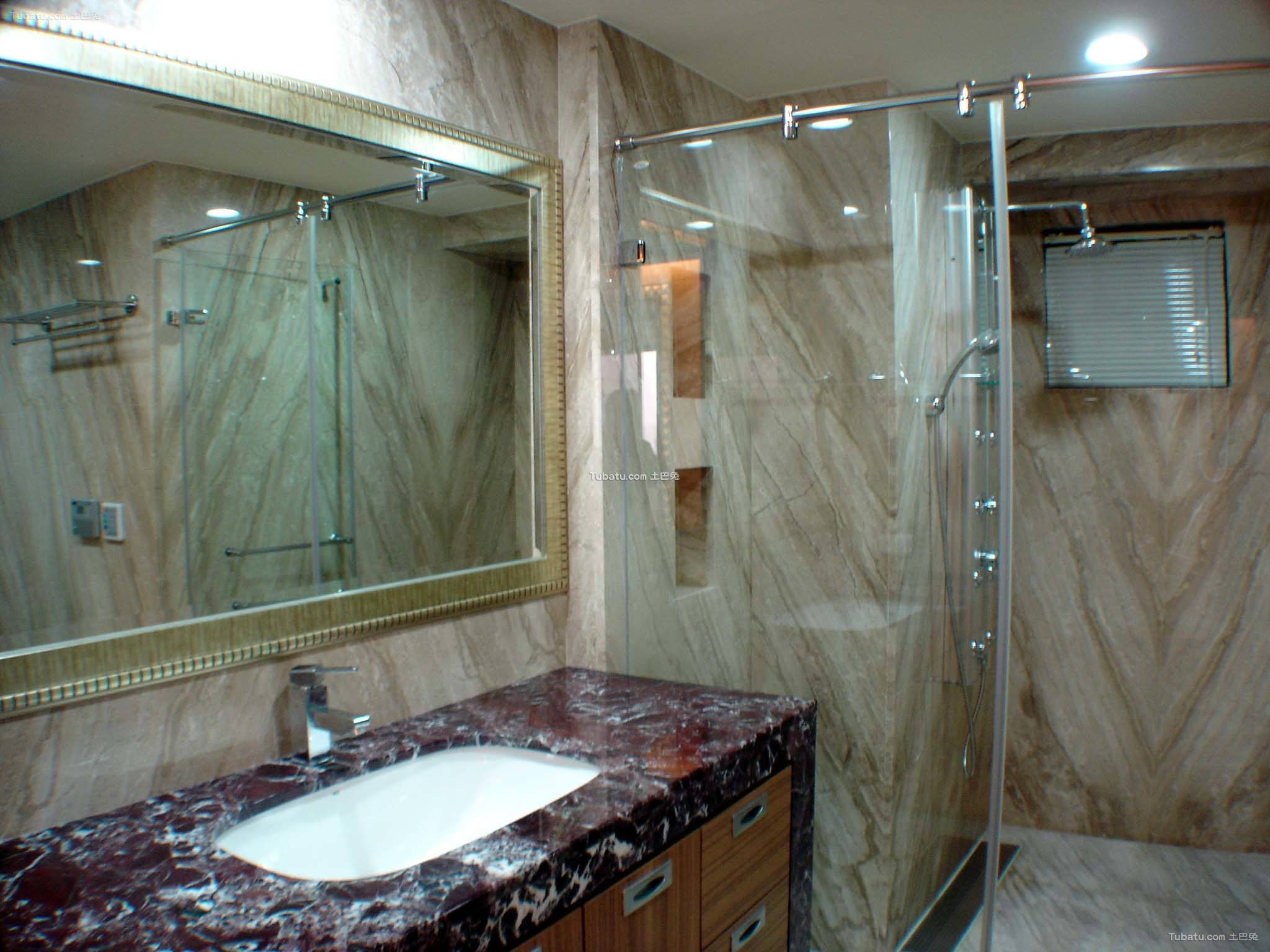 简约设计家庭装修卫生间设计