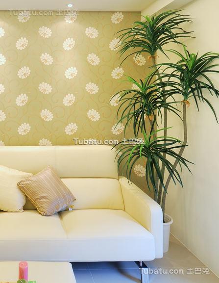 现代清新素雅装修二居室设计