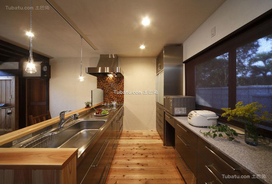 日式装修风格设计厨房