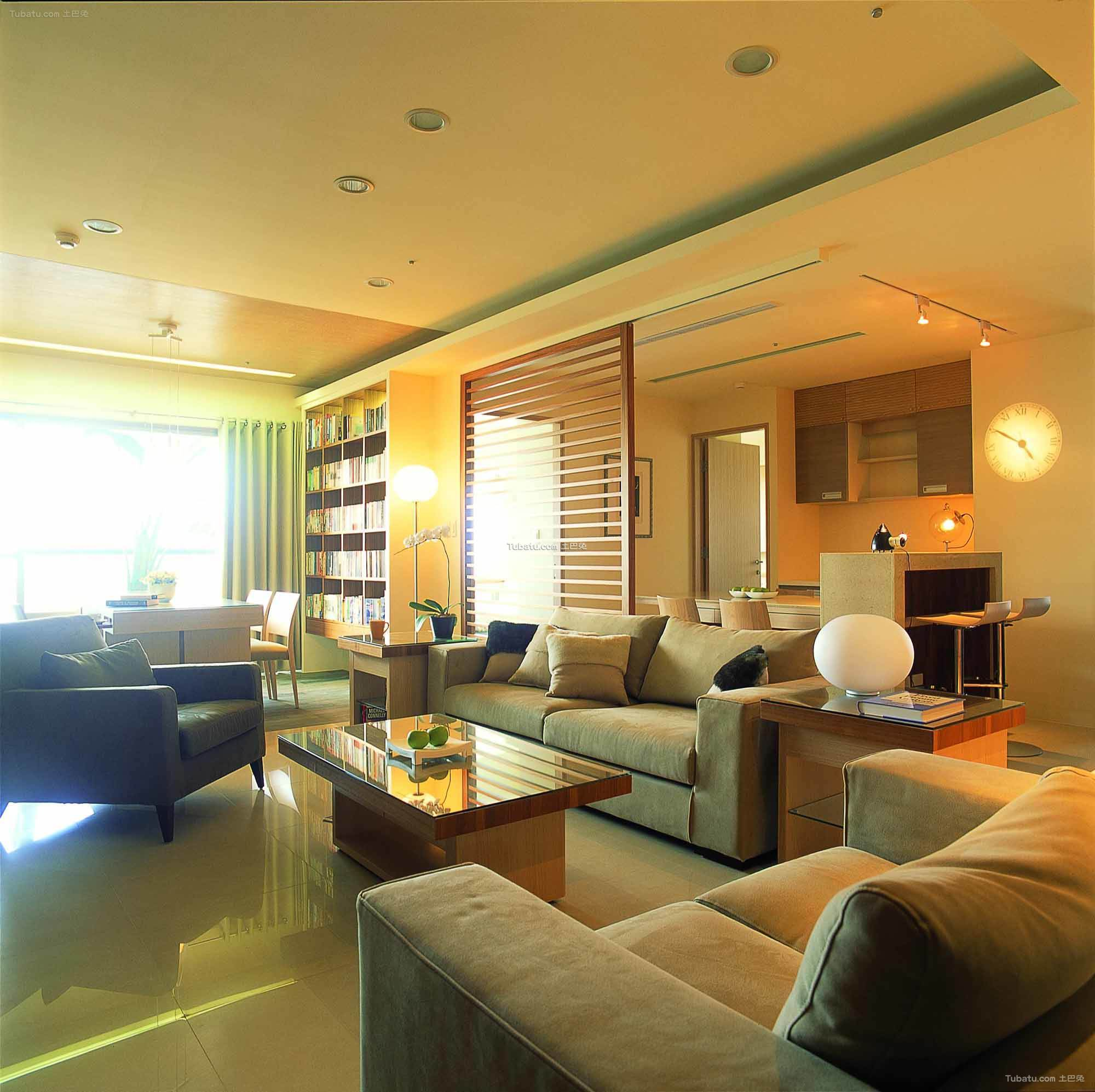 清新素雅宜家风格客厅设计