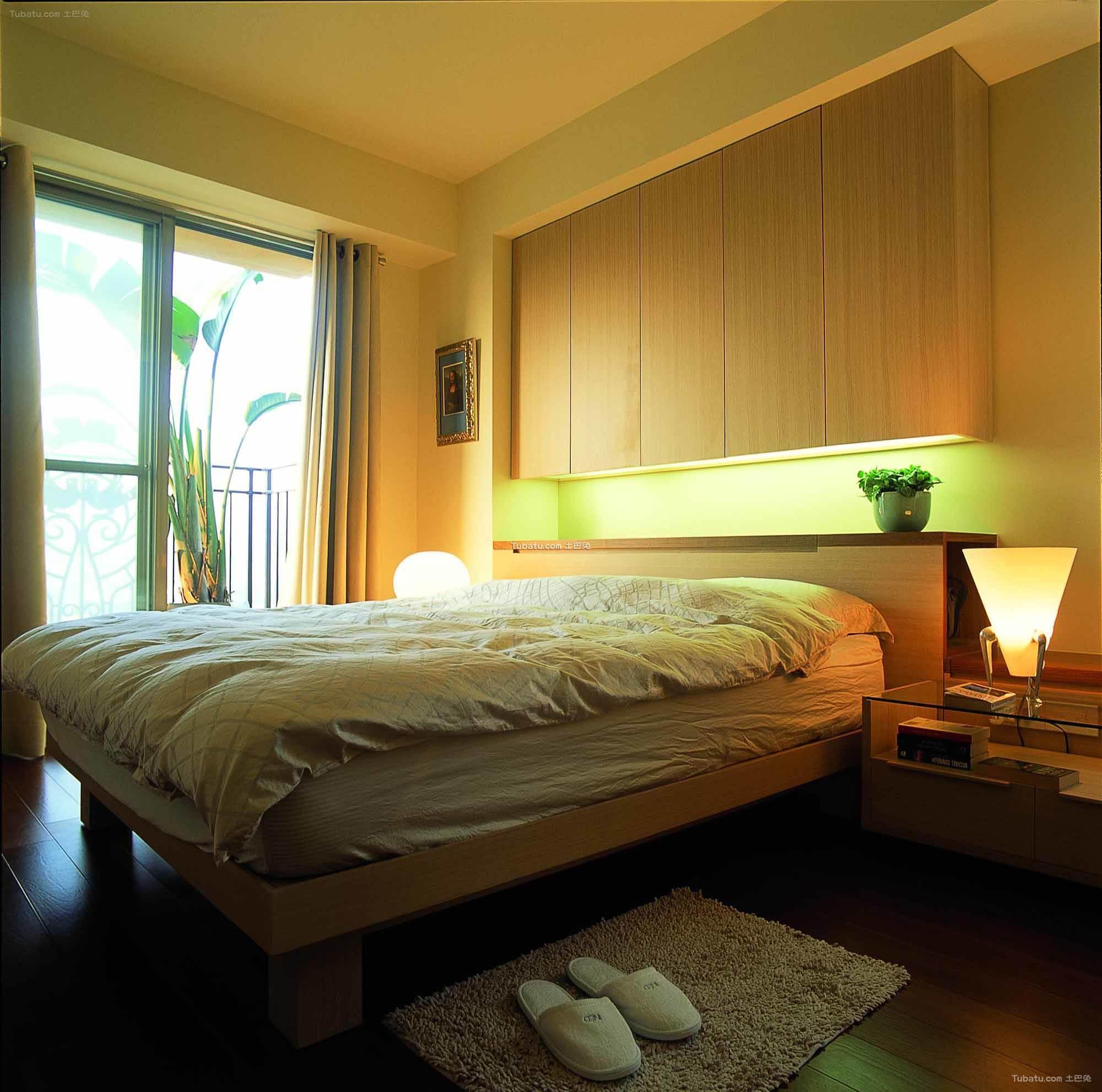 清新素雅宜家风格卧室设计