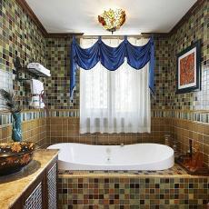 田园欧式风格别墅设计卫生间装修效果图