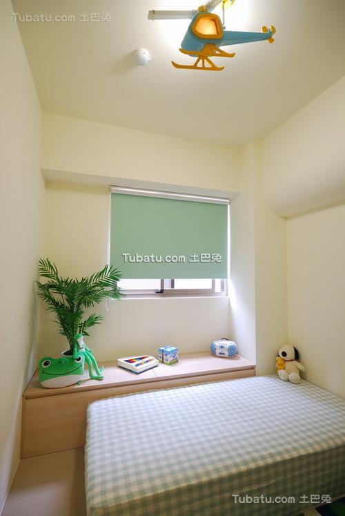 现代清新素雅装修卧室设计
