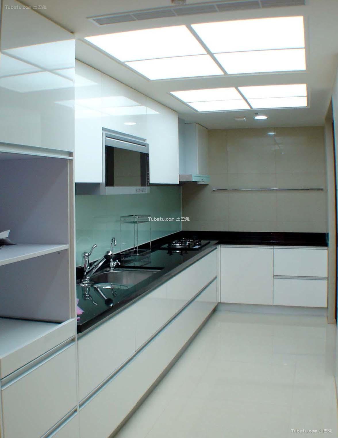 简约设计家庭装修厨房设计
