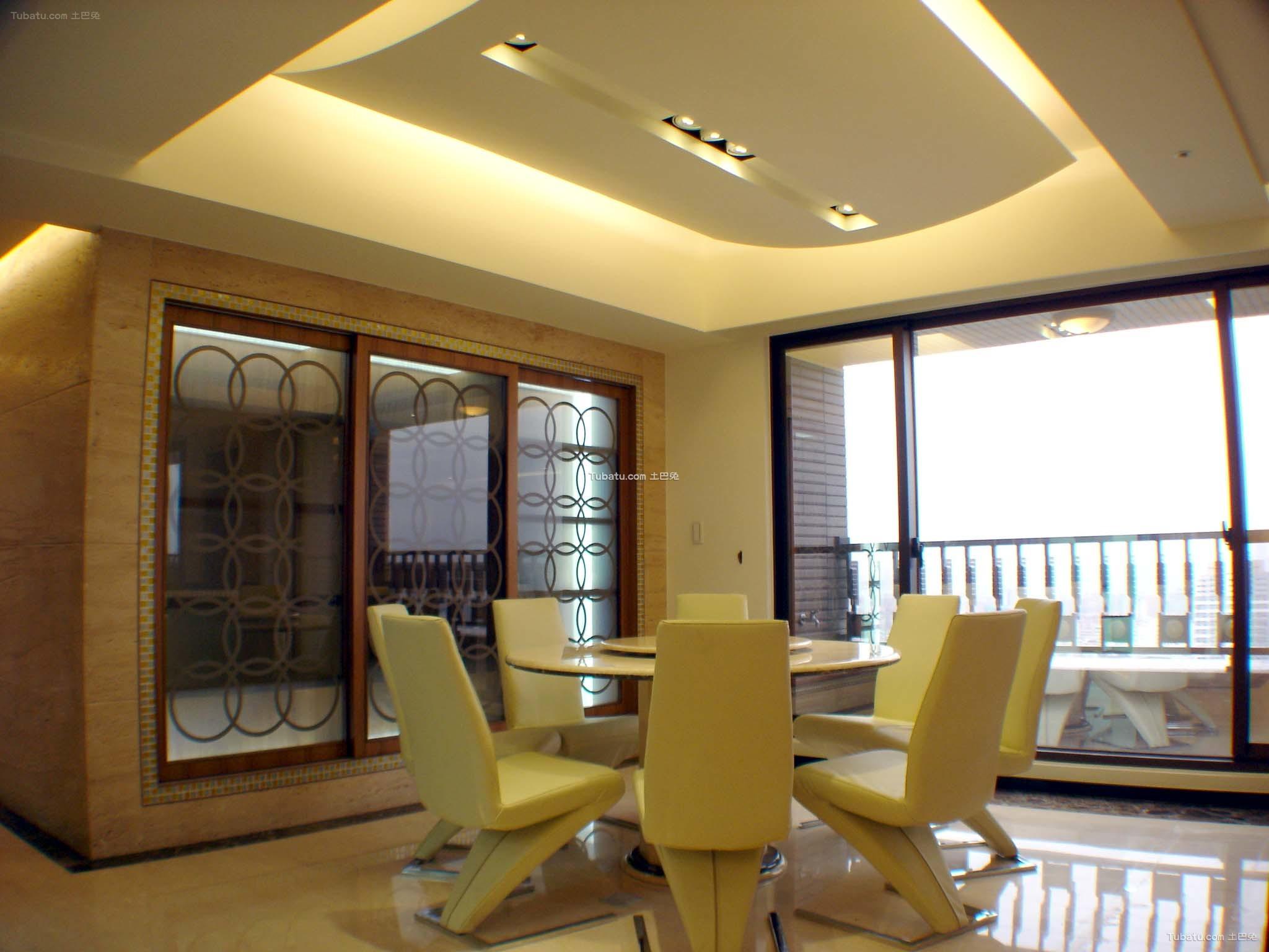 简约设计家庭装修餐厅设计