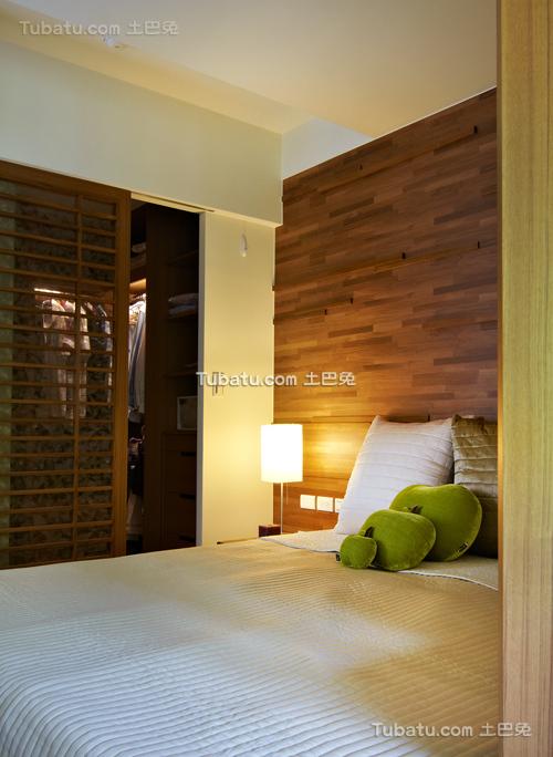 简约风格清新装潢设计卧室