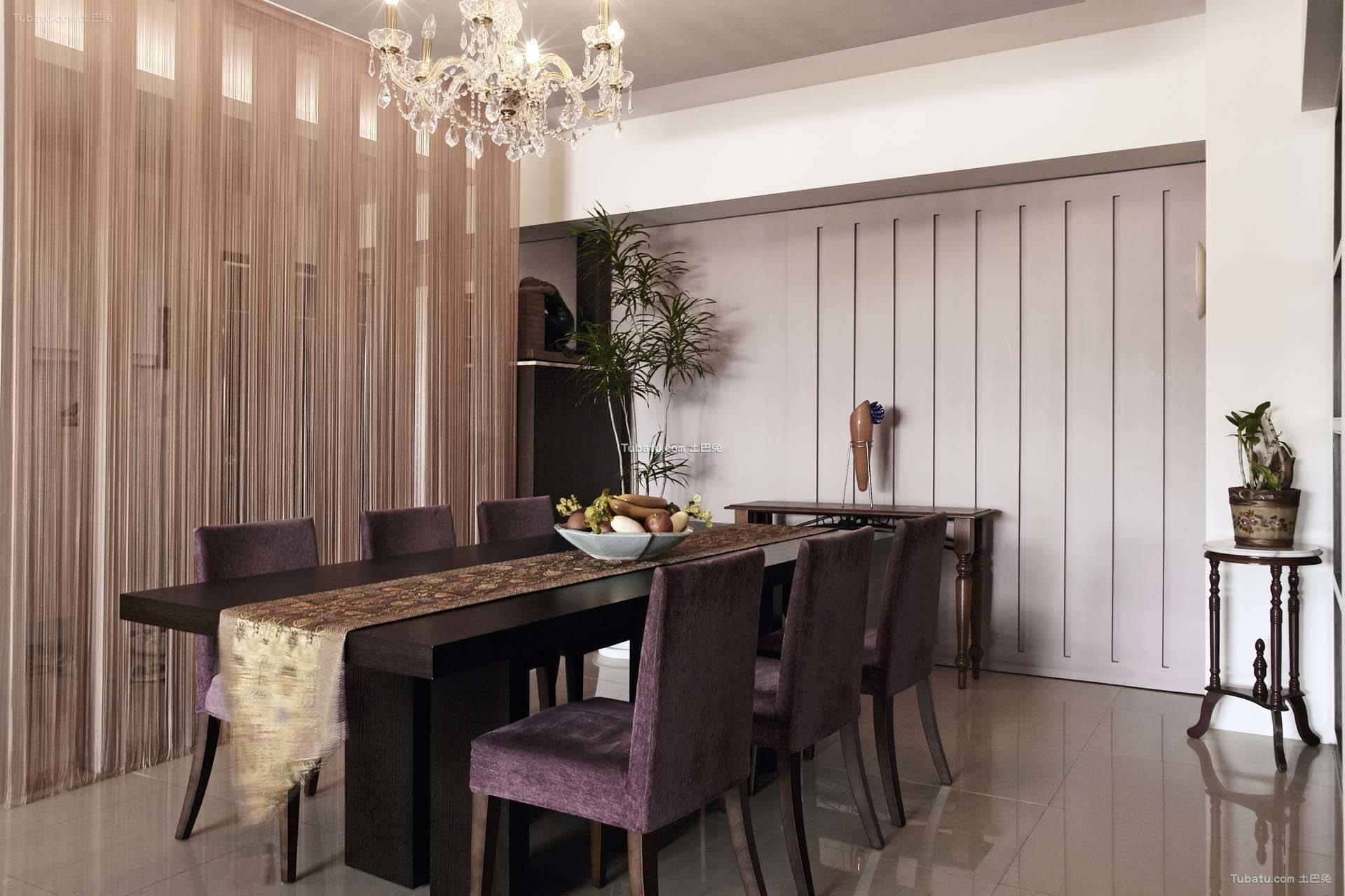 简约现代家装风格餐厅设计