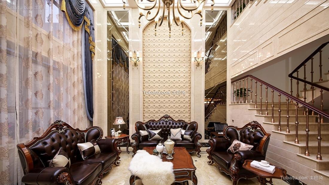古典豪华欧式客厅装修设计