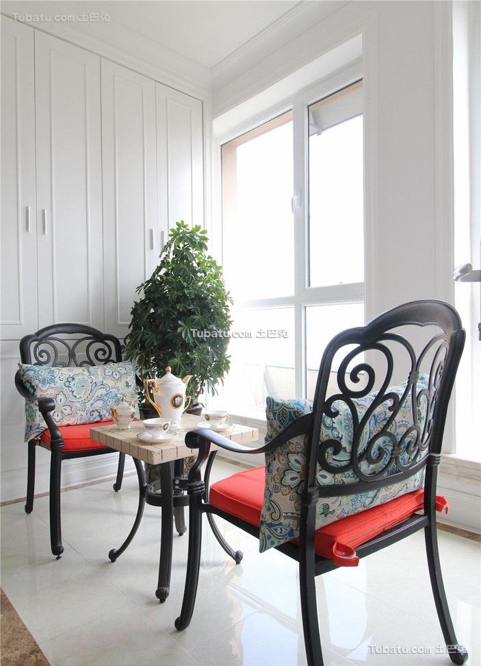 明亮混搭阳台装饰设计
