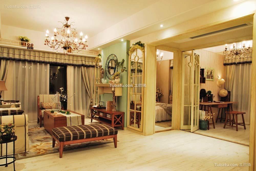 新古典风格设计两居室装修图片