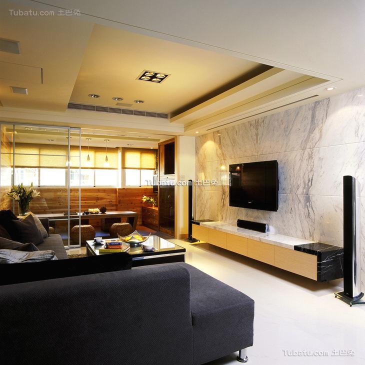 简约现代感装修设计客厅