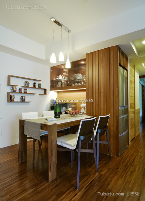 简约风格清新装潢设计客厅