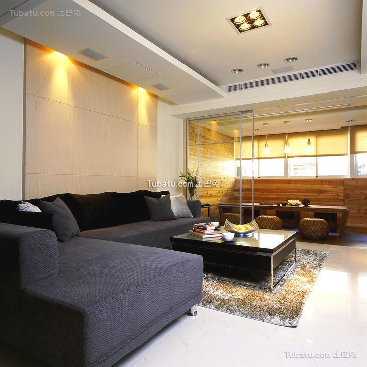 简约现代感装修设计二居室
