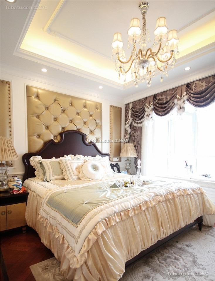 欧式时尚复古卧室装饰