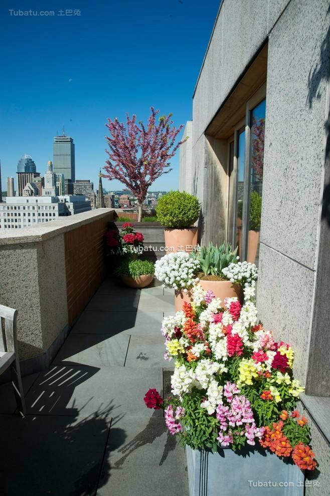 精美现代楼顶花园装修设计