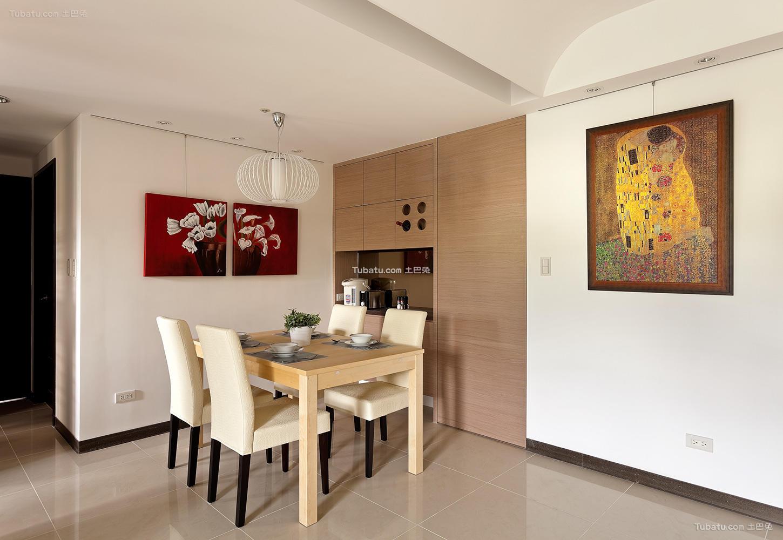 简约素雅家装风格餐厅设计