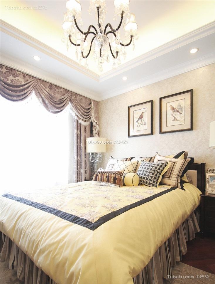 欧式文艺复古卧室装饰